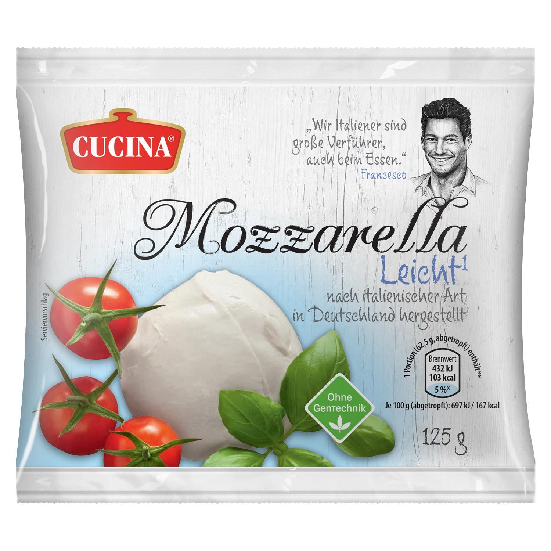 CUCINA ® Mozzarella 125 g