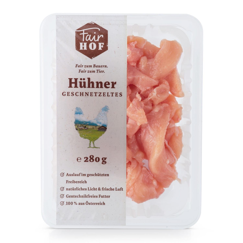 FairHOF Hühnerfleisch-Variation, Geschnetzeltes