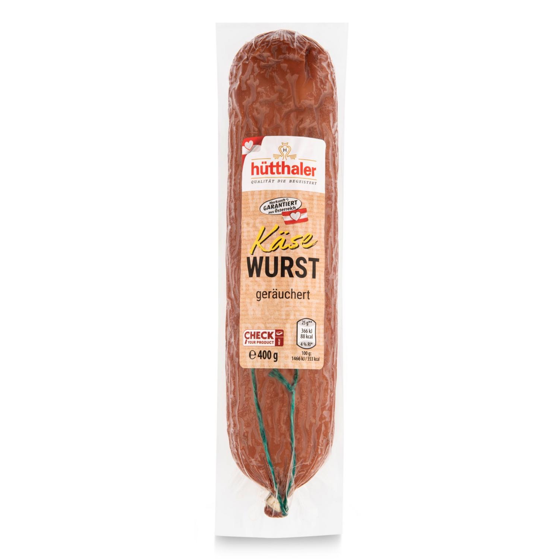 Hartwurst-Sortiment, Käsewurst
