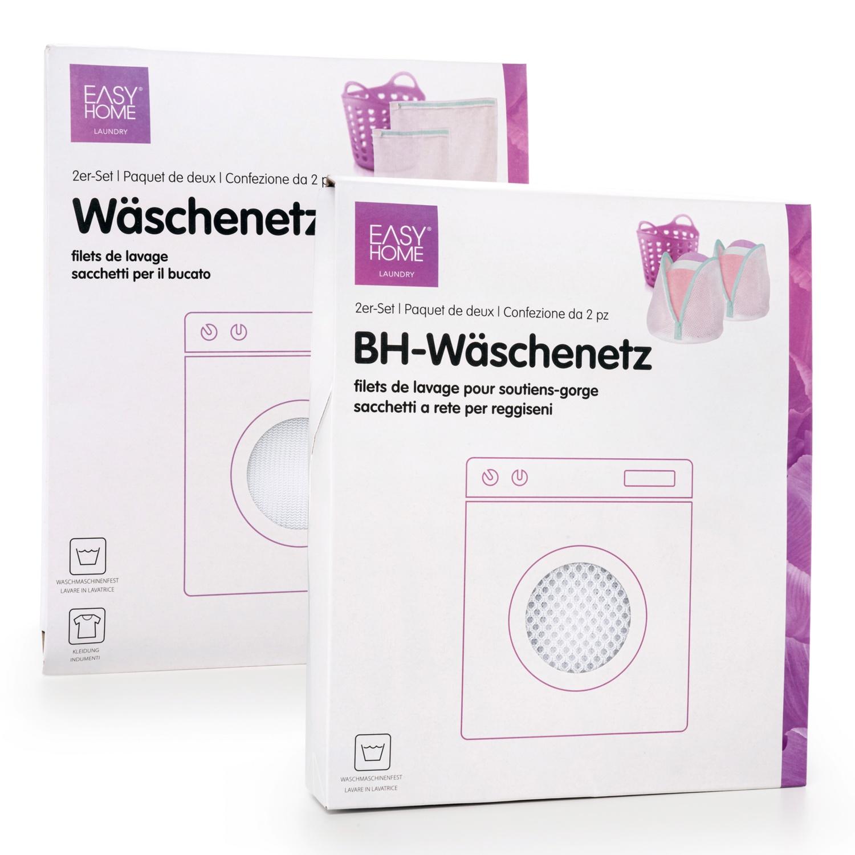EASYHOME Wäschenetz 2er