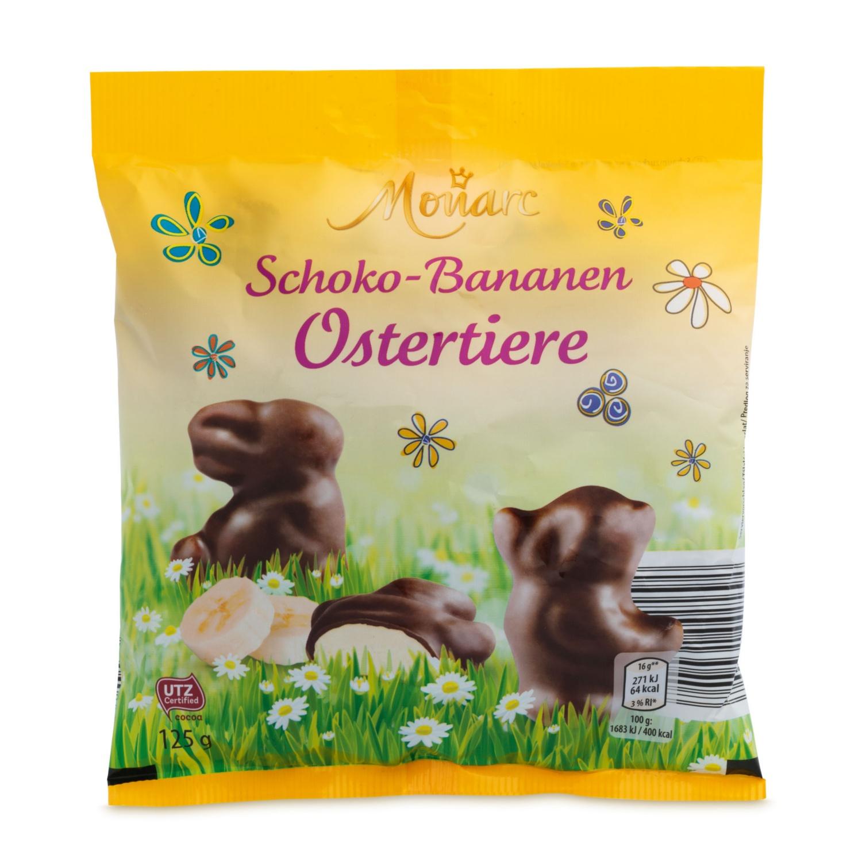 MONARC Schoko-Bananen-Ostertiere