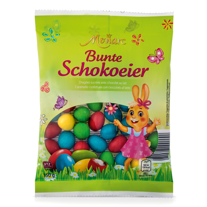MONARC Bunte Schoko-Eier