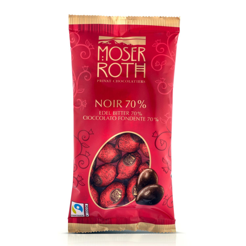 MOSER ROTH Mini-Ostereier, Zartbitter