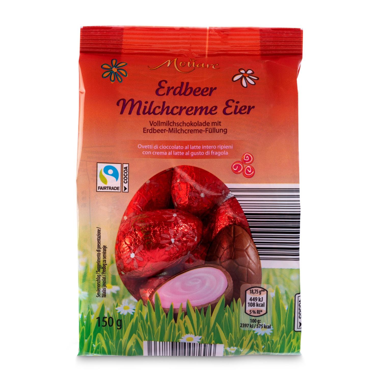 MONARC Ostereier gefüllt, Erdbeer