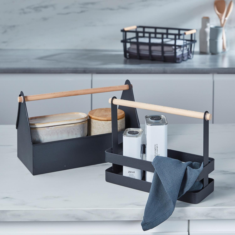 EASY HOME® Aufbewahrungskorb/Küchenregal*
