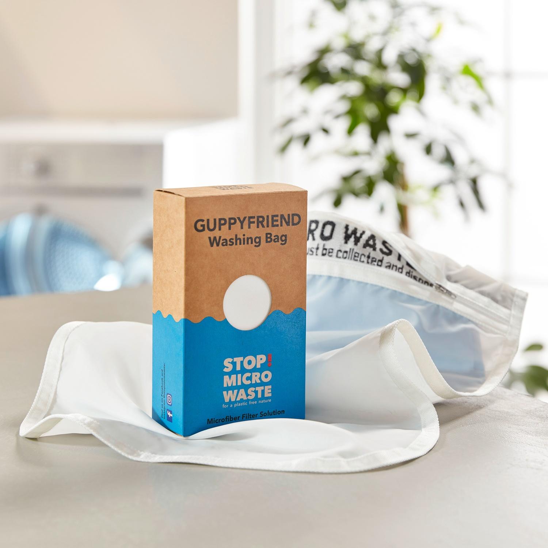 GUPPYFRIEND® Waschbeutel gegen Mikroplastik, Größe S*