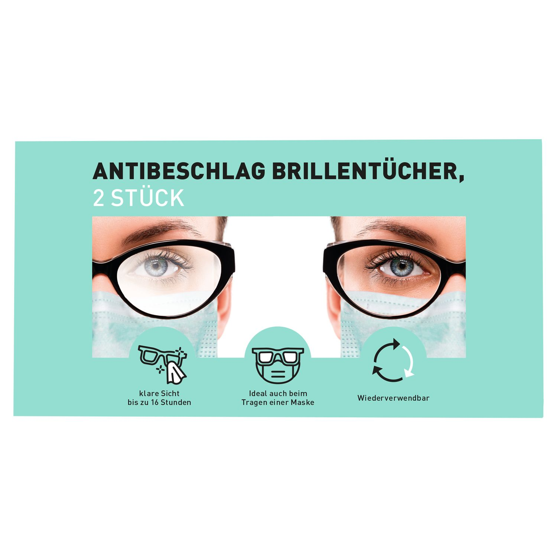 Antibeschlag-Brillentücher*