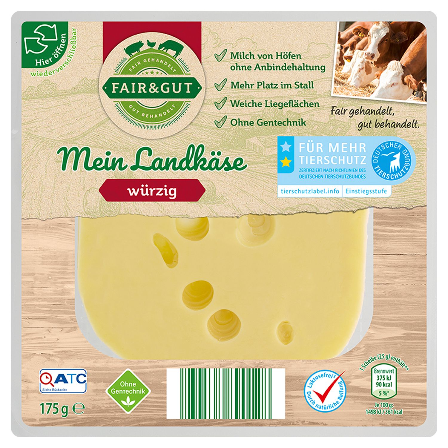 FAIR & GUT Mein Landkäse 175 g