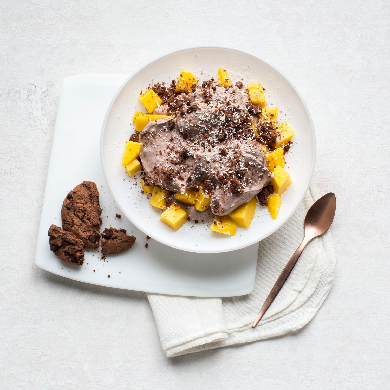 Schoko-Mango-Trifle