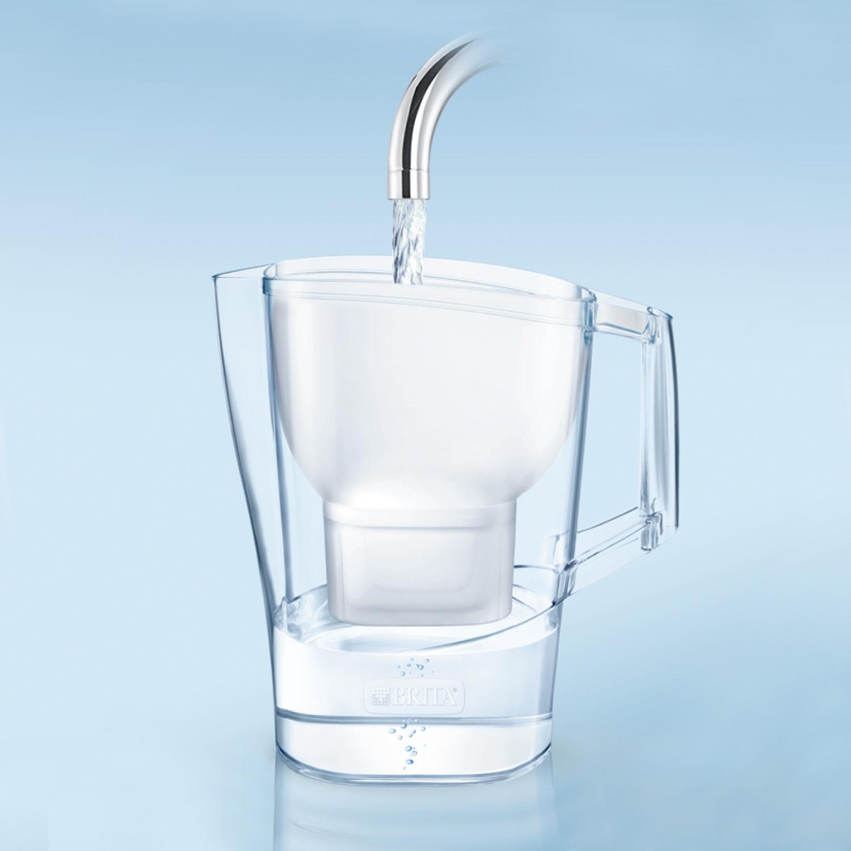 BRITA® Wasserfilter-Kanne ALUNA*