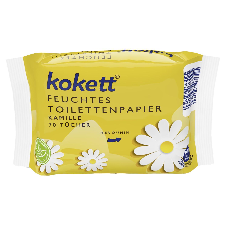 kokett® Feuchtes Toilettenpapier