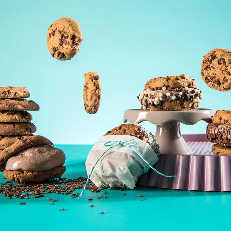 Cookie und Eis