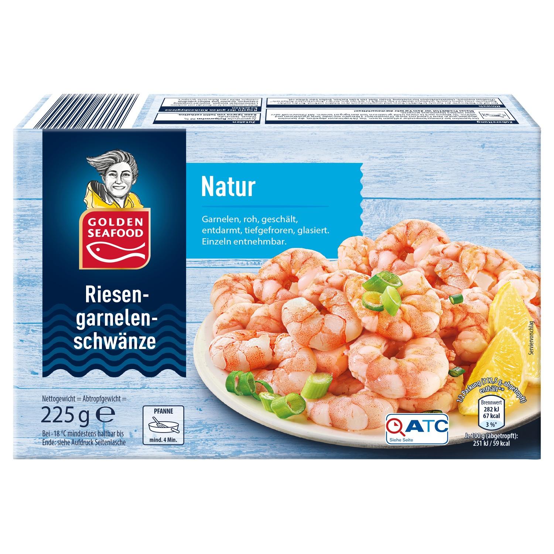 GOLDEN SEAFOOD Riesengarnelenschwänze 225 g