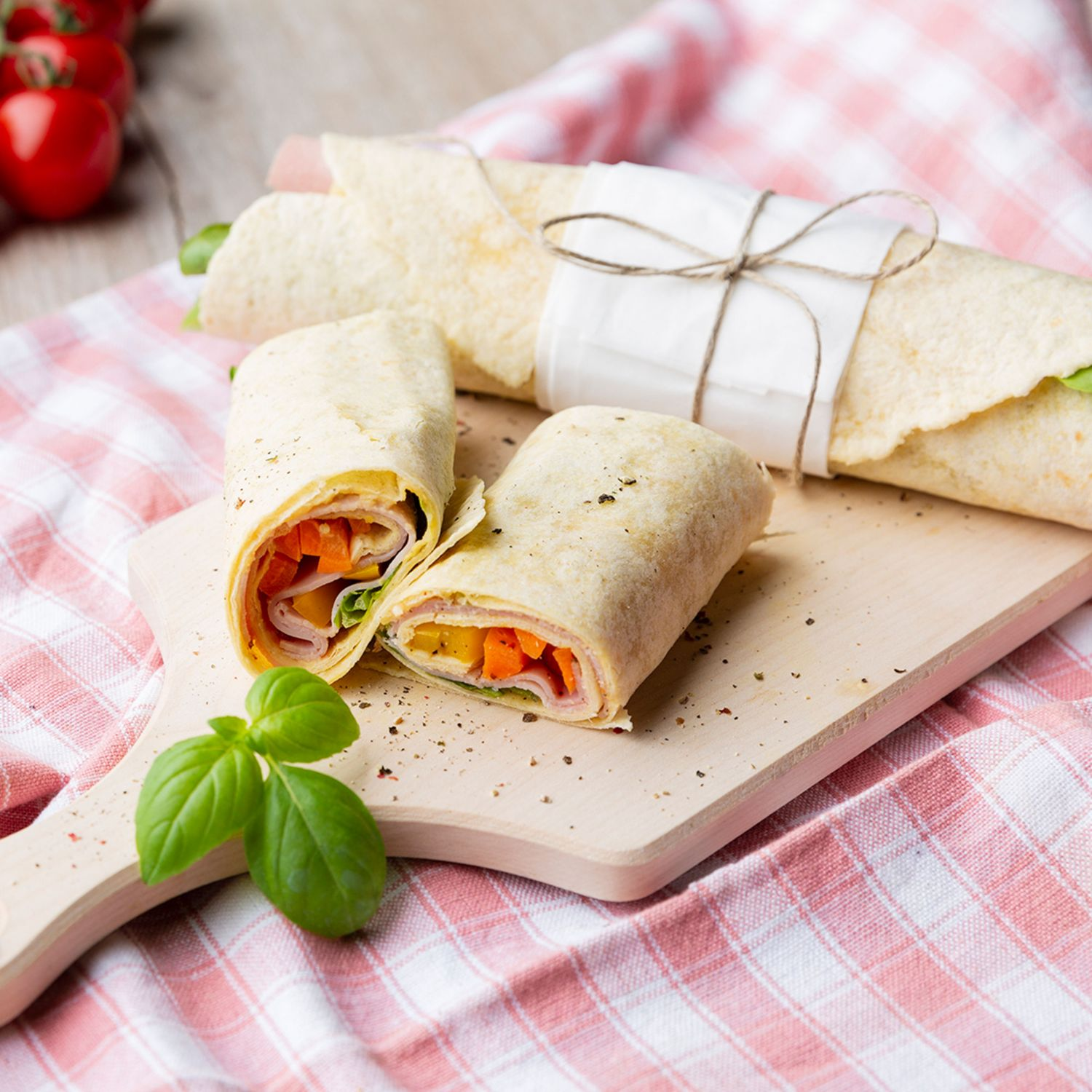 Wrap-Time in der Brotbox