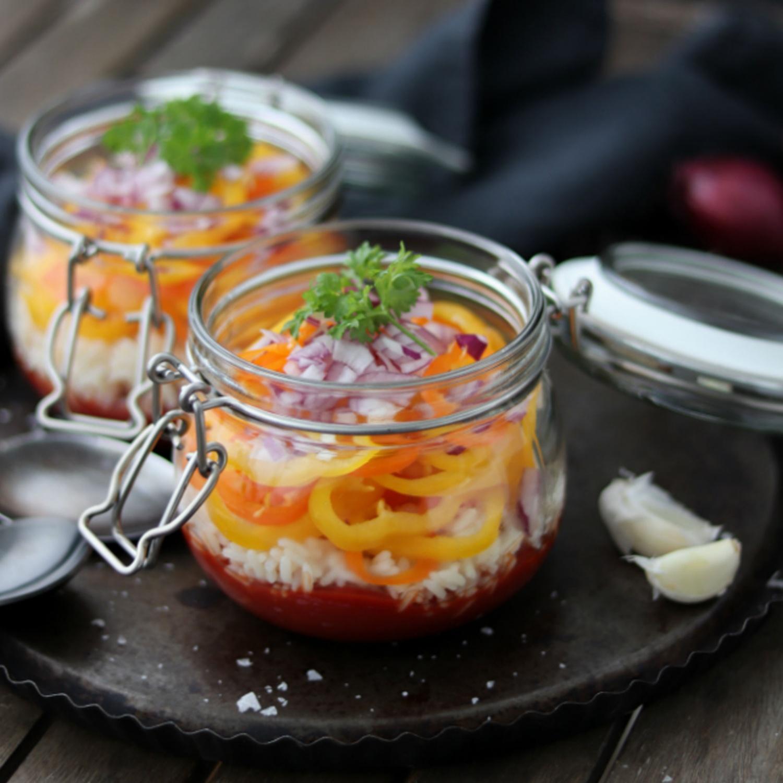 Suppe zum Mitnehmen nach Letscho Art