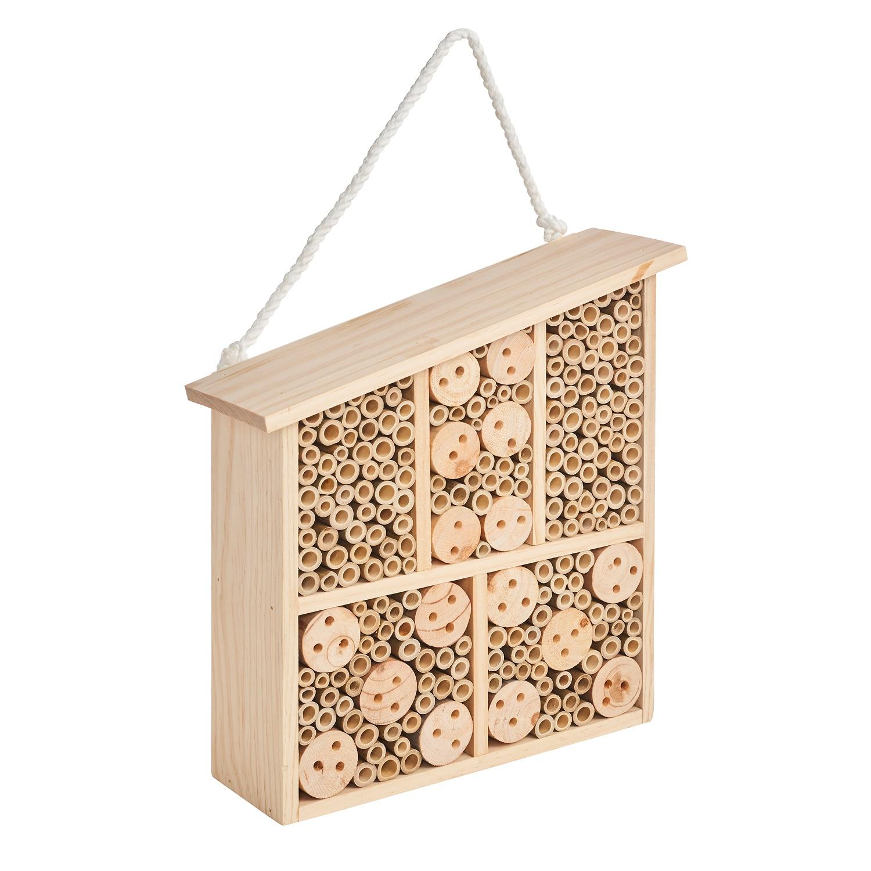 GARDENLINE® Bienen- und Insektenhotel aus Sperrholzplatten*