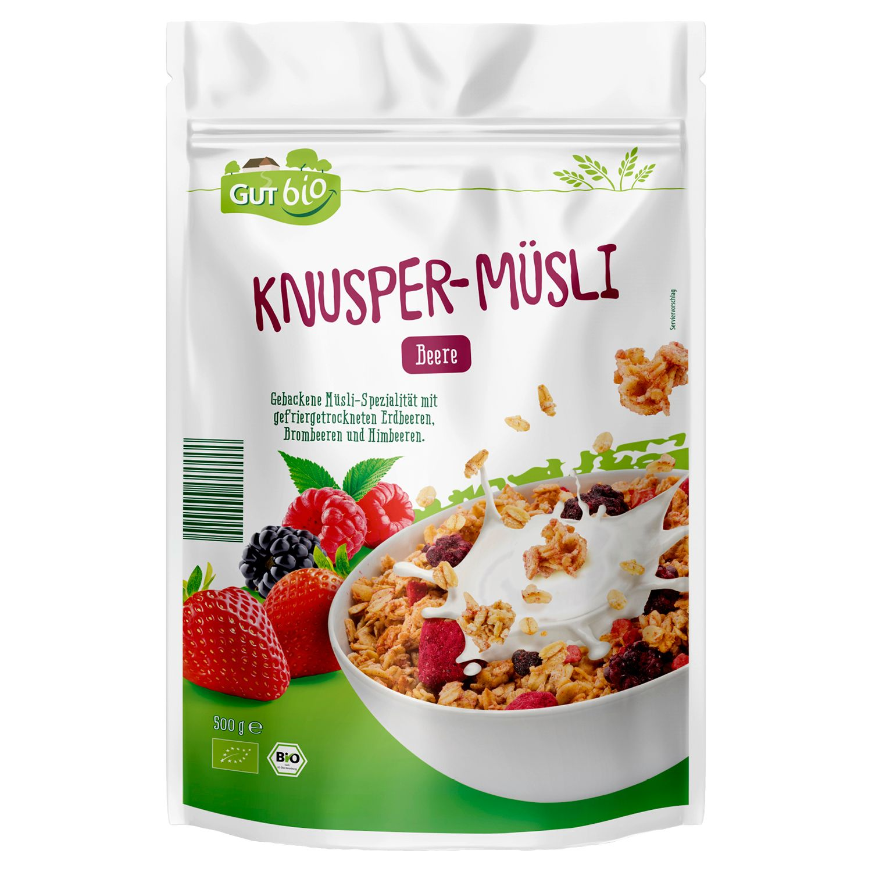 GUT bio Bio-Knusper-Müsli 500 g