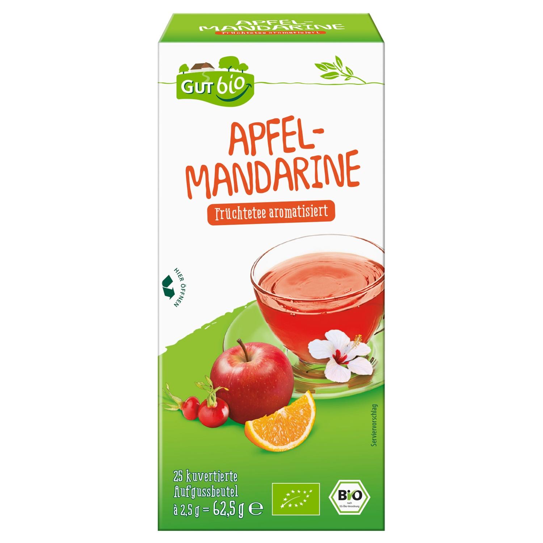 GUT bio Apfel-Mandarine 25 Beutel