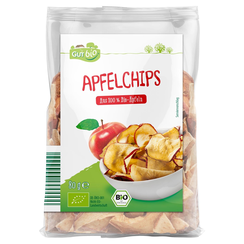 GUT bio Apfelchips 80 g
