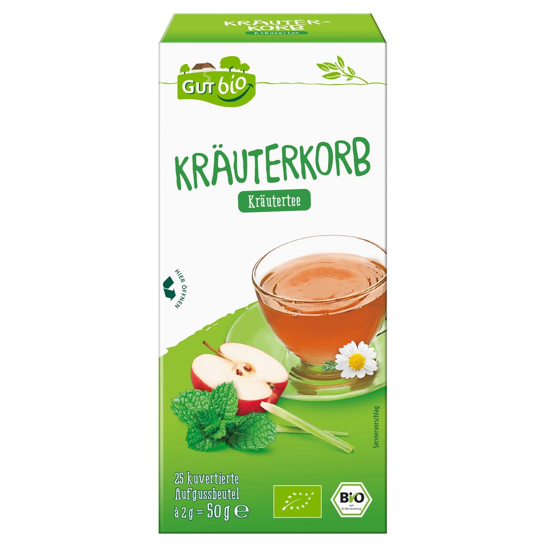 GUT bio Kräuterkorb Kräutertee 50 g