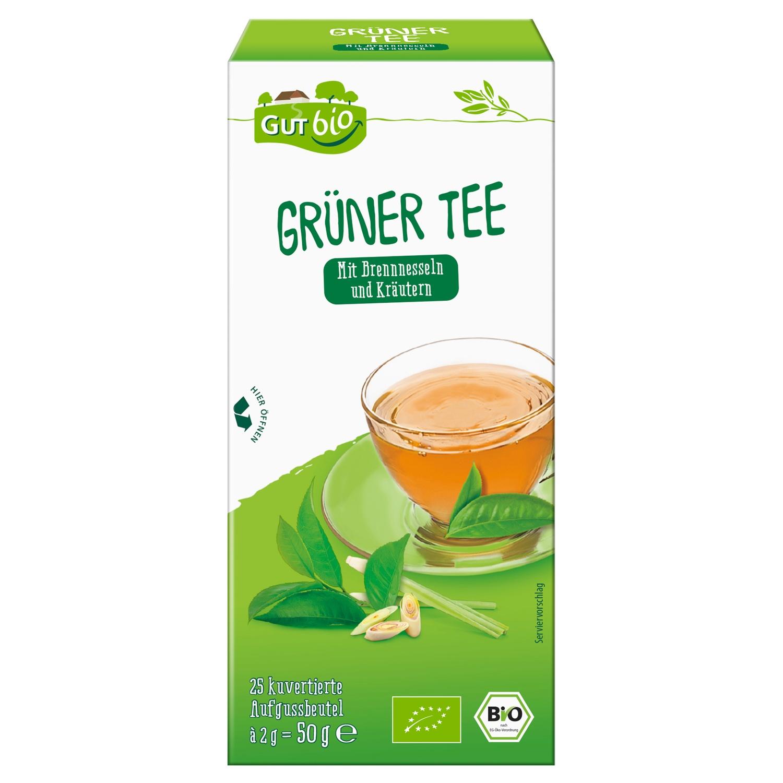 GUT bio Grüner Tee 25 Beutel