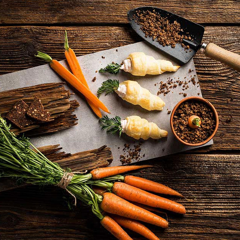 Blätterteig-Karotten