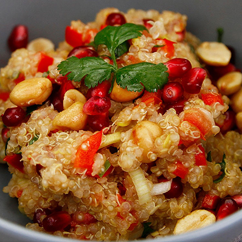 Quinoa-Granatapfel-Salat