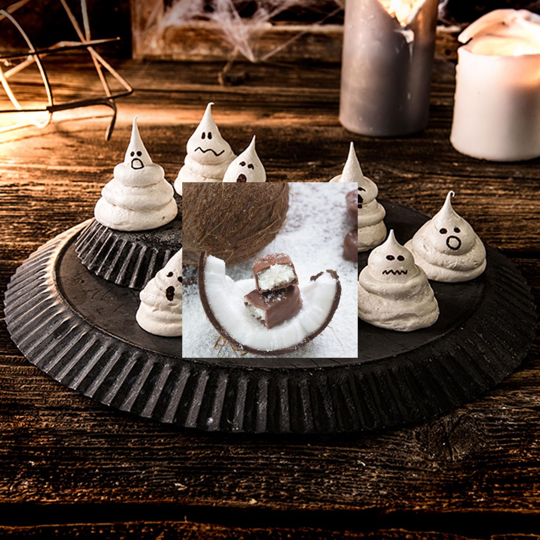 Süße Geister für Halloween