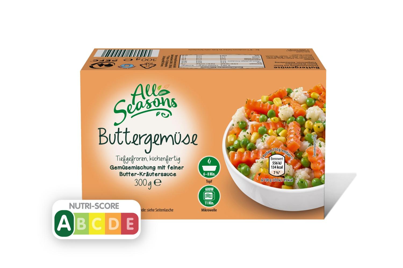 All Seasons Buttergemüse 300 g