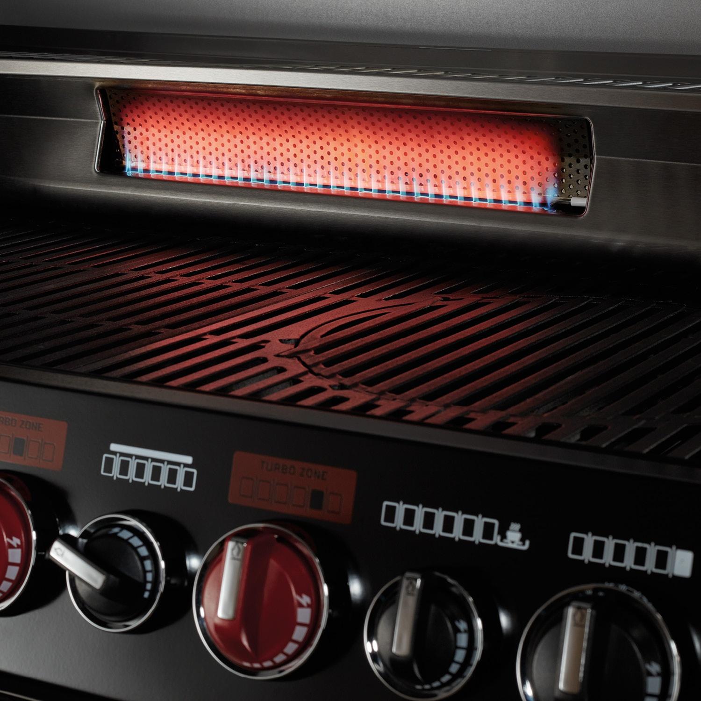 Enders® Gasgrill Boston Black Pro 6 SIKR TURBO II*
