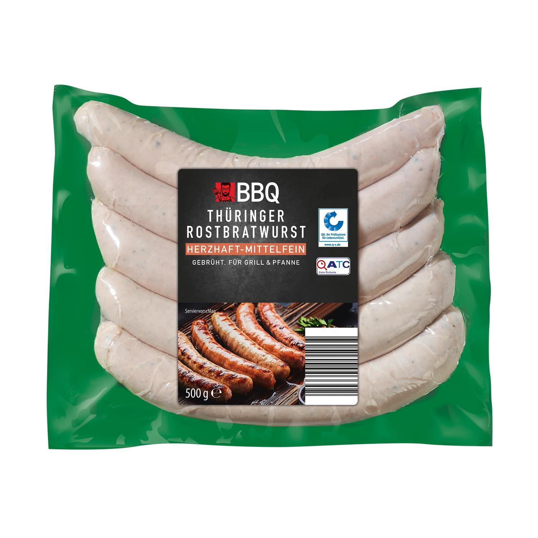 BBQ Thüringer Rostbratwurst 500 g
