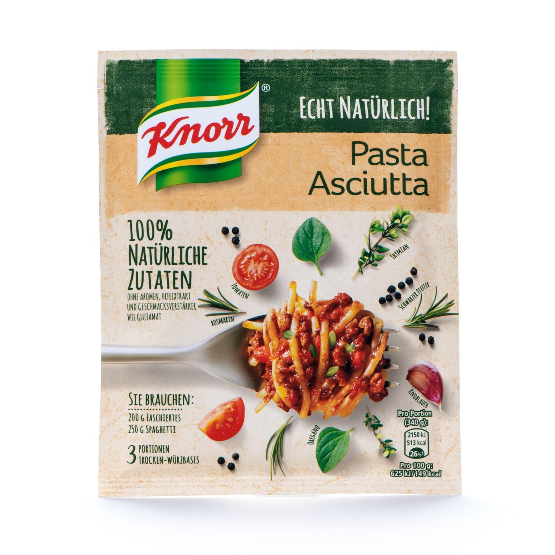"""Basis """"Echt Natürlich"""", Pasta Asciutta"""
