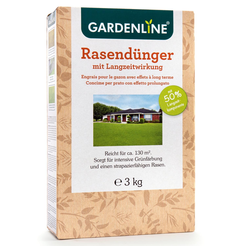 GARDENLINE Rasendünger mit Langzeitwirkung