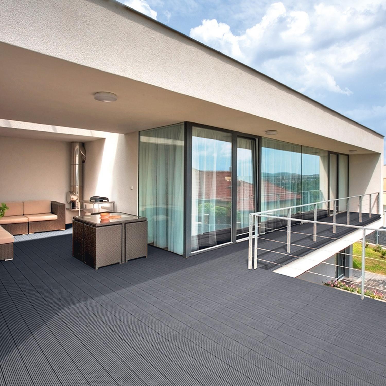 WPC Terrassendielen 6 m² Set