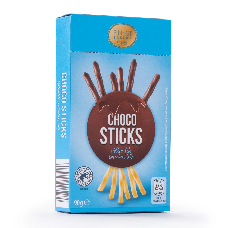 FINEST BAKERY Schoko und Keks Sticks, Vollmilch
