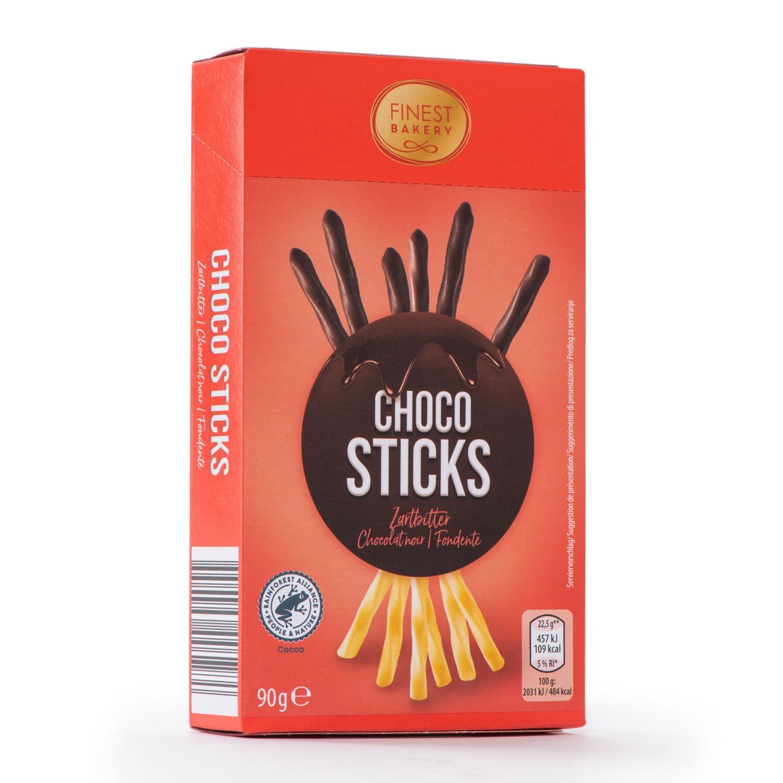 FINEST BAKERY Schoko und Keks Sticks, Zartbitter
