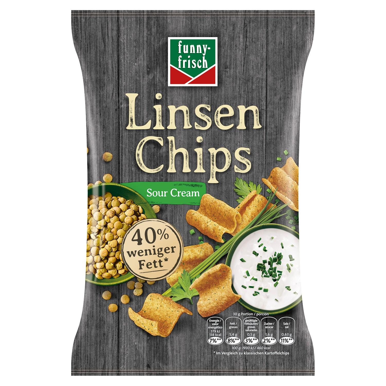 funny-frisch Linsenchips 90 g*