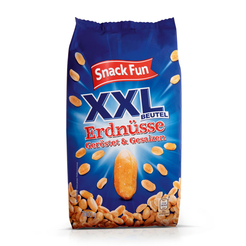 SNACK FUN XXL Erdnüsse