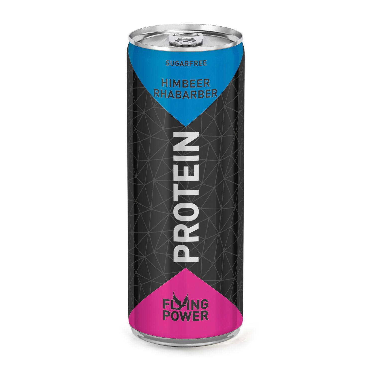 FLYING POWER Protein, Himbeer-Rhabarber