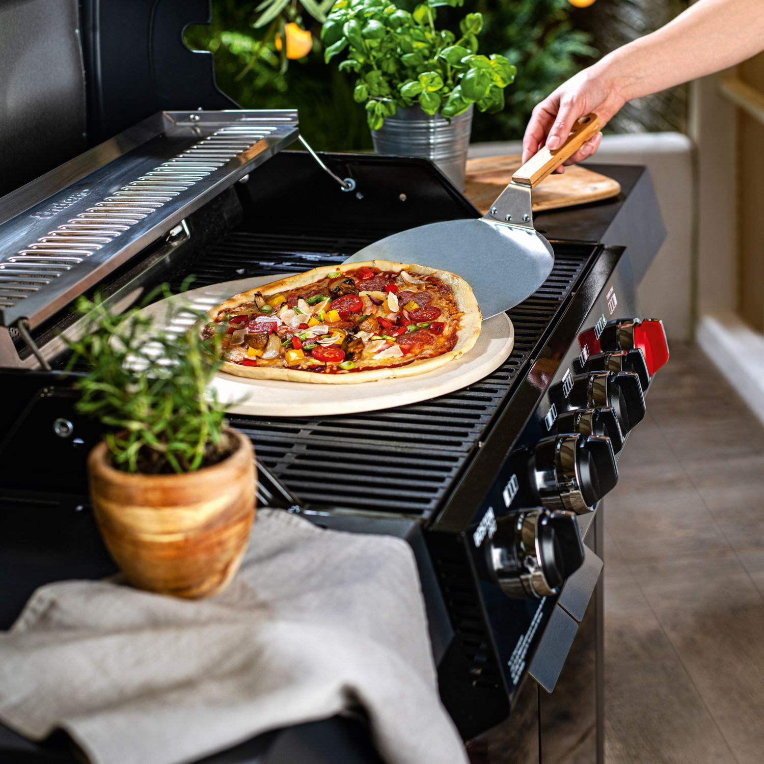 BBQ Pizza-Set