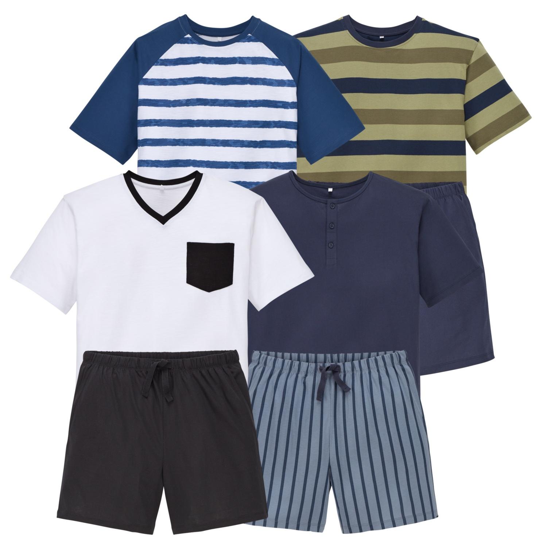 ROYAL CLASS CASUAL Herren-Pyjama, Baumwolle (BIO)