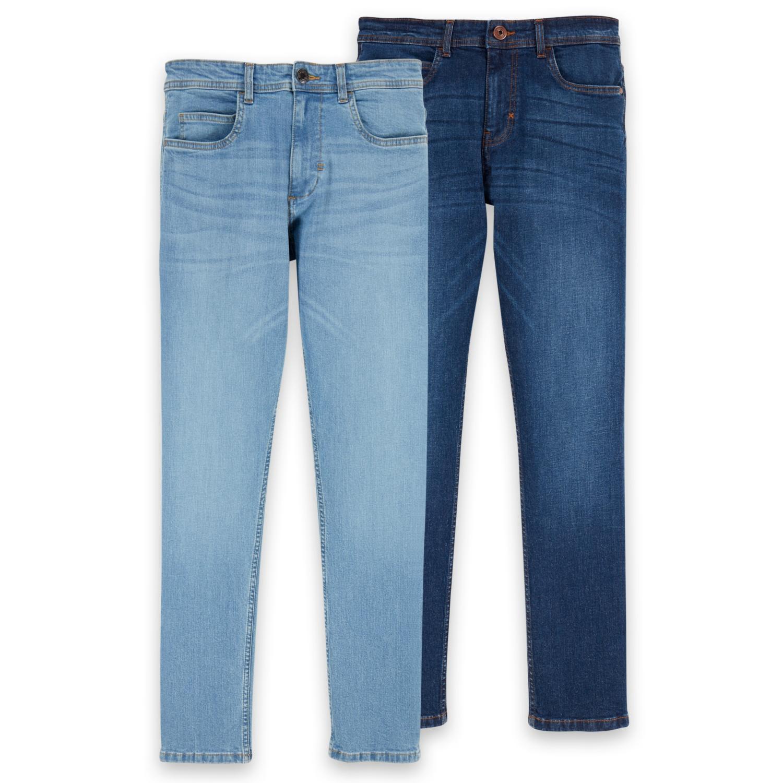 WATSON'S Herren-Jeans, Baumwolle (BIO)