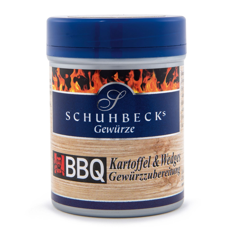 SCHUHBECK BBQ Gewürzmischung, Kartoffel & Wedges