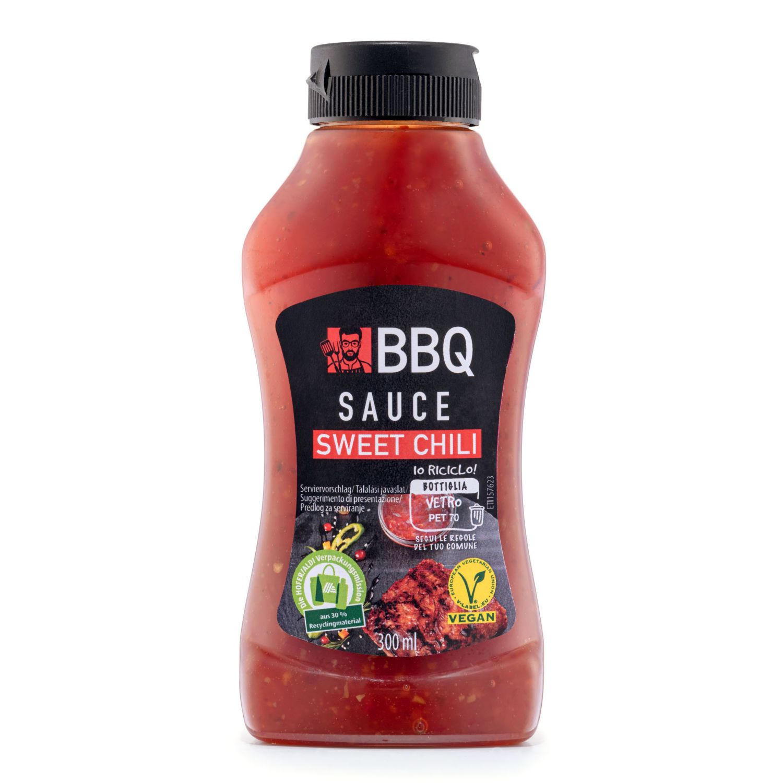 BBQ Feine Sauce rot, Süß-Chili