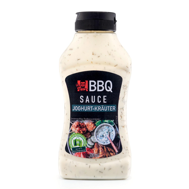 BBQ Feine Sauce weiß, Joghurt Kräuter