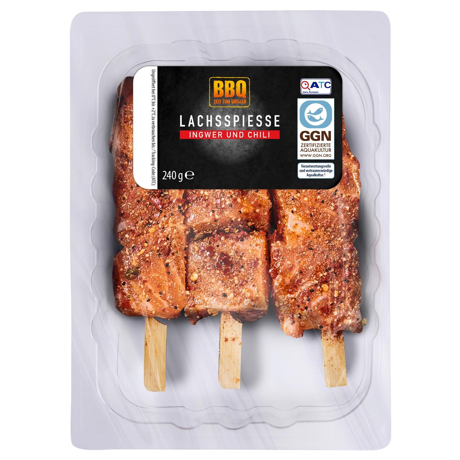 BBQ Lachsspieße 240 g*
