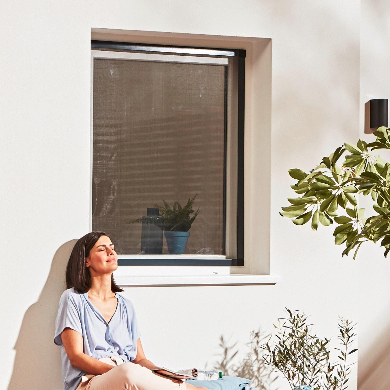 hecht international Aluminium-Insektenschutz für Fenster*