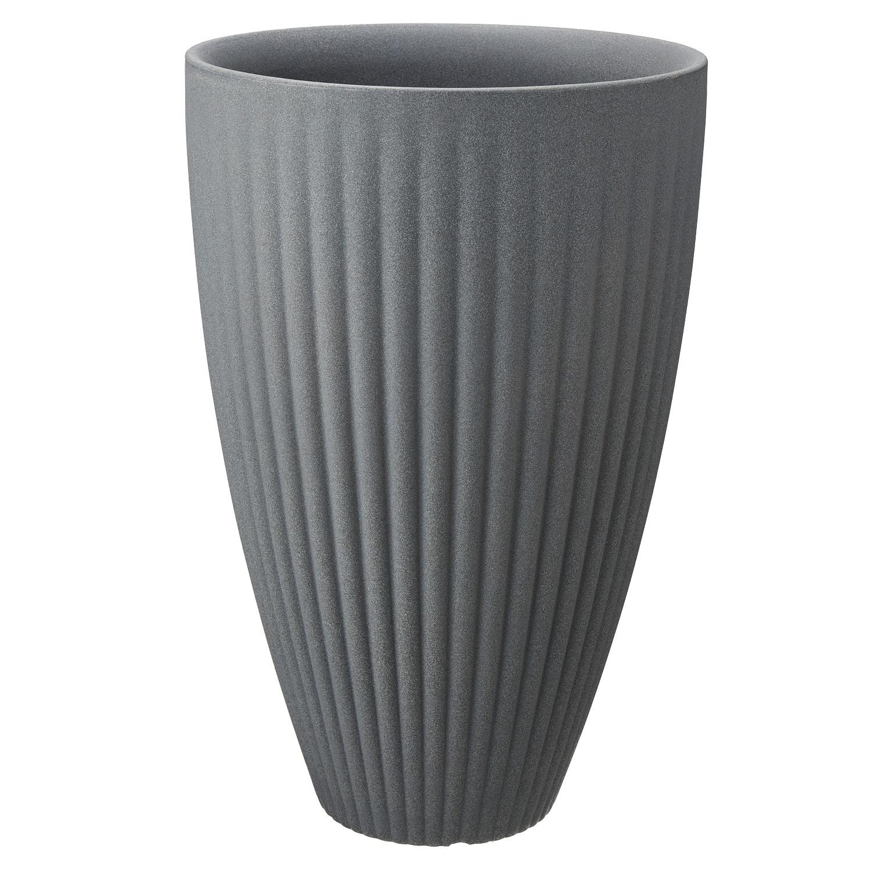 belavi® Rillen- Pflanztopf aus Kunststoff*