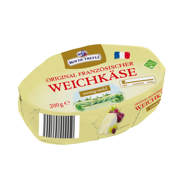ROI DE TREFLE Französischer Weichkäse 200g