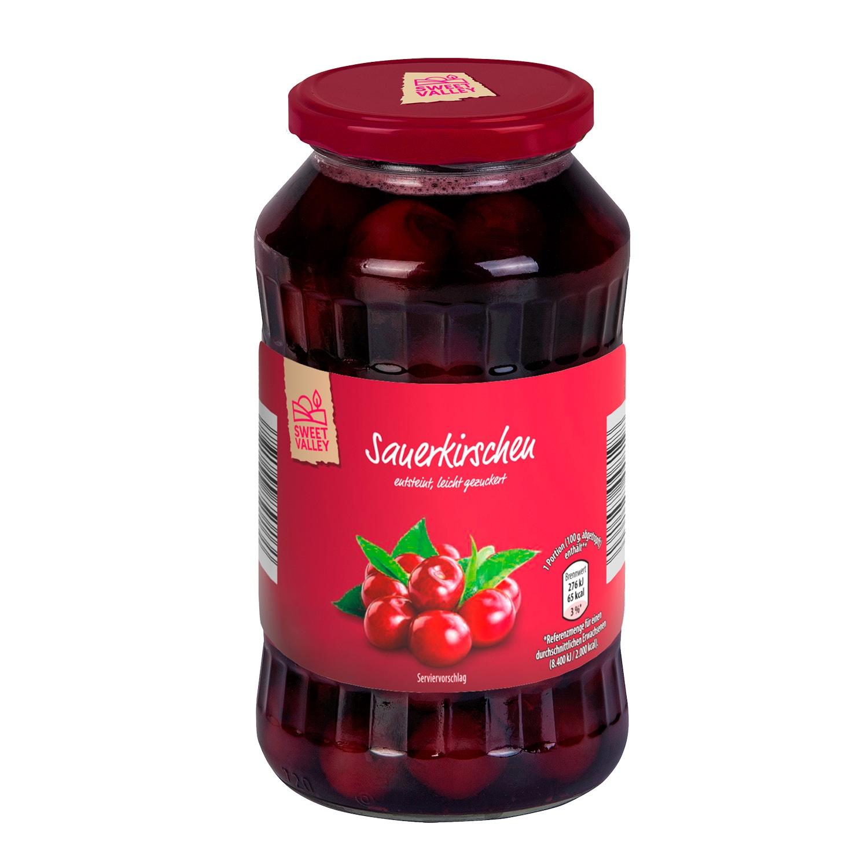SWEET VALLEY Sauerkirschen 720 ml